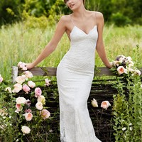 Willowby by Watters Inez 54107 Low Back Lace Wedding Dress