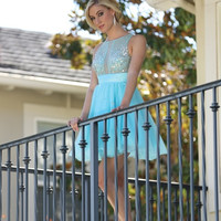 Q1170 Short Homecoming Cocktail Dress