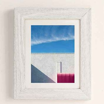 George Byrne Pink & White #2 Art Print