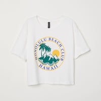H&M Short T-shirt $12.99