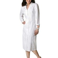 Buy Adar Women Uniforms Two Pockets Embroidered Dress for $48.45