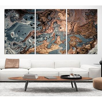Modern Abstract Art Large Canvas Print