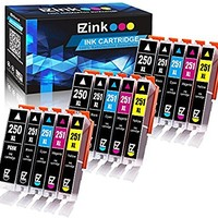 E-Z Ink (TM) Compatible Ink Cartridge Replacement for Canon PGI-250XL PGI 250 XL CLI-251XL CLI 251 XL (3 Large Black, 3 Cyan, 3 Magenta, 3 Yellow, 3 Small Black) for Canon PIXMA MX922 MG5520 MG7520