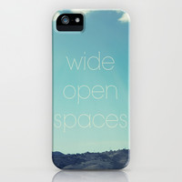Wide Open Spaces iPhone & iPod Case by Shawn King