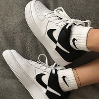 NIKE AIR FORCE 1 AF1 NBA Fashionable men's and women's board shoes