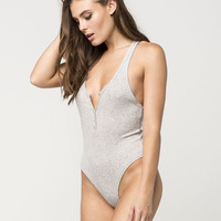 FREE PEOPLE Hooked On You Womens Bodysuit