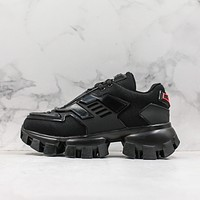 Prada Cloudbust Thunder Black Sneakers-1
