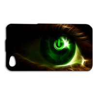 Xbox Eye Custom Case for iPhone 5/5s and iPhone 4/4s