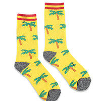 Reason Palm Tree Emoji Socks