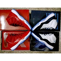 Air Jordan 11 Midnight Navy N Gym Red Basketball Shoes Us5.5 13 | Best Deal Online
