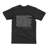 Knowledge Drop: The War on Drugs Tee