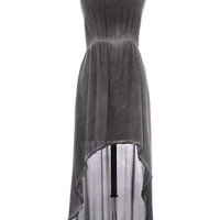 Etched in Stone High-Lo Dress