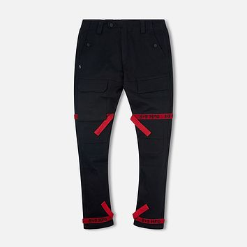 Strapped Up Slim Utility Pant Bred Straps