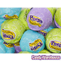 Peepsters Dark Chocolate Candy: 8-Ounce Bag