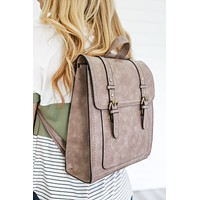 Patoka River Backpack - Taupe