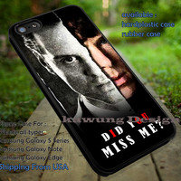 Did You Miss Me Quote Moriarty iPhone 6s 6 6s+ 5c 5s Cases Samsung Galaxy s5 s6 Edge+ NOTE 5 4 3 #movie #supernatural #superwholock #sherlock #doctorWho dt