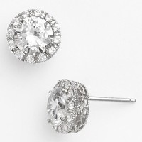 Women's Nordstrom Round 3.48ct tw Cubic Zirconia Stud Earrings - Round