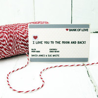 Personalised Mini Credit Card Gift Card