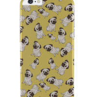 Pug Life Pattern iPhone 6 Plus / 6S Plus Cover