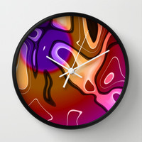Lava Lamp Wall Clock by Eric Rasmussen