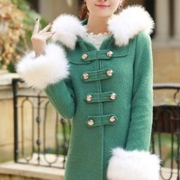 Winter Must-have Double-breasted Coat - OASAP.com