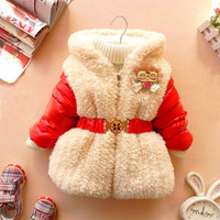 12m4T baby clothes baby girl clothes winter coat by babygirldress