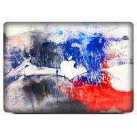 """Vinyl Watercolour Painting  Abstract 3D Skin Cover  Protector Sticker Hollow out For Apple Macbook Air Pro Retina 11"""" 13.3"""" 15"""""""