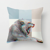 LION Throw Pillow by M✿nika  Strigel NEW CUTE Pillow in 3 SIZES  other animals available!