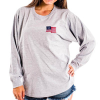 United American Flag Pullover Jersey