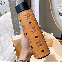 LV Louis Vuitton X MCM X Hermes GG Intelligent Digital Display Water Cup Temperature Measuring Thermos 304 Stainless Steel Male And Female Filter Tea Cup Thermos Colorful #7