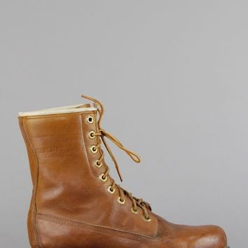 Wolverine Insulated Lace Up Leather Boots
