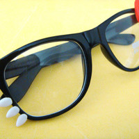 Hello Kitty Nerd Glasses by CanDiscoAccandClo on Etsy
