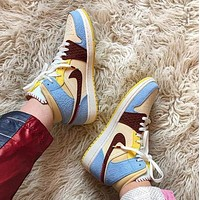 Bunchsun Air Jordan 1 MID AJ1 Fashion Men Women Classic Sport Basketball Shoes Sneakers