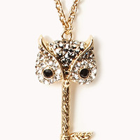 Owl Key Necklace | FOREVER 21 - 1060487897