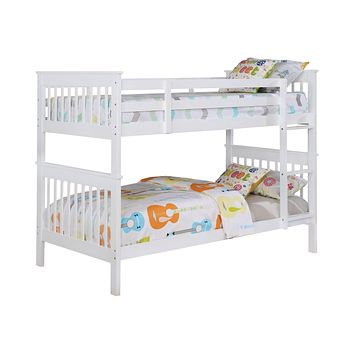 G460244 - Chapman Bunk Bed - Twin, Full or Twin Over Full - White