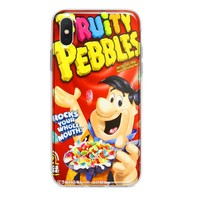 FRUITY PEBBLES CUSTOM IPHONE CASE