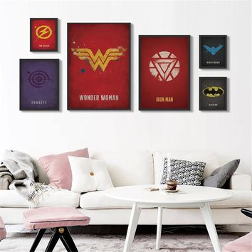 Deadpool Dead pool Taco Marvel  Heroes Pictures Abstract Oil Painting Canvas Wall Art Home Decor Wall Paintings Iron Man Batman Captain Poster AT_70_6