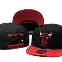 Chicago Bulls Nba Cap Snapback Hat -