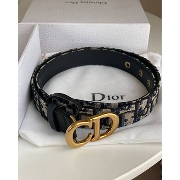 DIOR CD Oblique belt