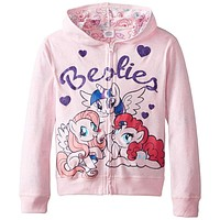 My Little Pony - Besties Girls Juvy Zip Hoodie