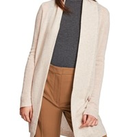 Luxe Placket Cashmere Cardigan