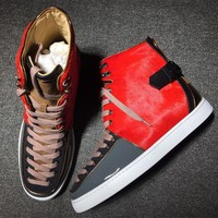 Cl Christian Louboutin Style #2135 Sneakers Fashion Shoes