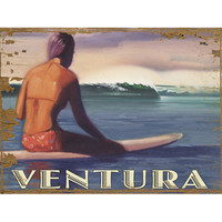 Personalized Ventura Wood Sign
