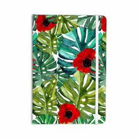 "Li Zamperini ""Tropical Vibes"" Green Olive Watercolor Everything Notebook"