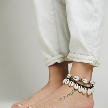 Free People Avoca Shell Anklet