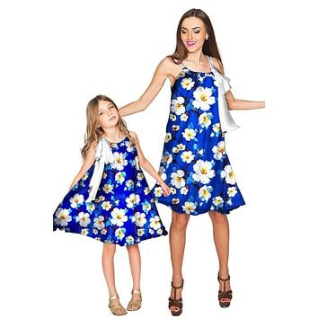 Almond Blossom Melody Swing Chiffon Mommy and Me Dress