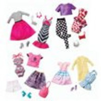 Barbie Fashion and Accessories 2-Pack Case