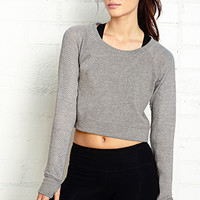 Cropped Post-Workout Pullover