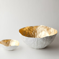 The Colossal Shop — Gold Paper Bowls