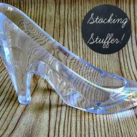 Cinderella's Glass Slipper (Large) - Stocking Stuffer, Christmas Gift for Your Favorite Princess